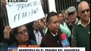 PROTESTA DE PENSIONISTAS DE CPMP: ATV+ 28JUN17