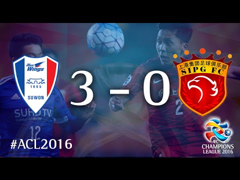 SUWON SAMSUNG BLUEWINGS vs SHANGHAI SIPG: AFC Champions League (Group Stage)