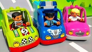 Мультики про машинки все серии подряд. Полицейская машина. Новые мультфильмы для детей. Мультики