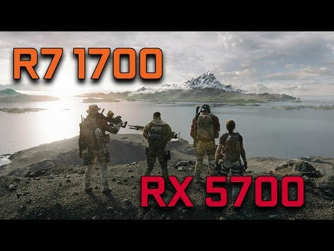 Ghost Recon Breakpoint Beta | RX 5700 + Ryzen 7 1700 | 1080p High Settings | BENCHMARK |