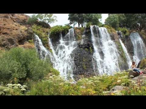 Shakeh Waterfall Armenia , Водопад Шаке ,  Շաքեի ջրվեժը