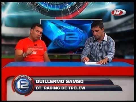 NOTA EN VIVO A GUILLERMO SAMSO (DT RACING DE TRELEW)