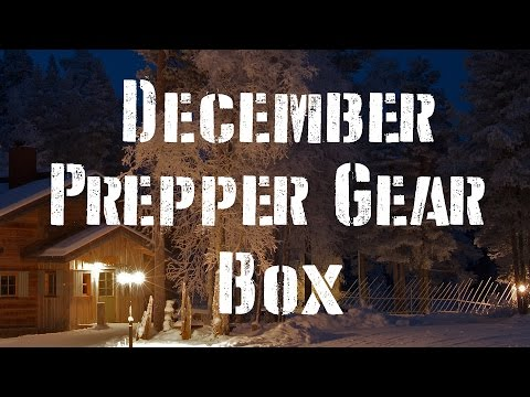 December Prepper Gear Box