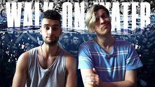 EMINEM - WALK ON WATER FIRST REACTION/REVIEW (JUNGLE BEATS)