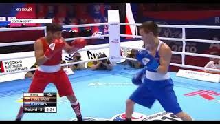 Якутянин одержал победу над эквадорцем на чемпионате мира по боксу