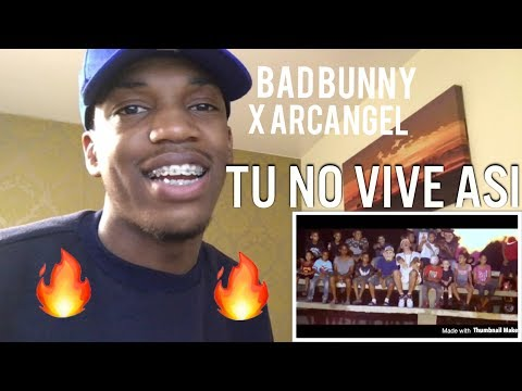 Arcangel x Bad Bunny - Tu No Vive Asi [Video oficial] REACTION!!