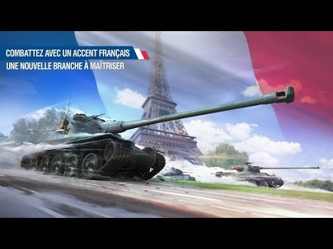 World Of Tanks Blitz En route avec les français (AMX M4 45, AMX 50 100, AMX 50 120, AMX 50 B)