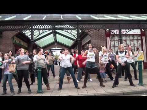 Tiverton Children in Need Zumba Flash Mob