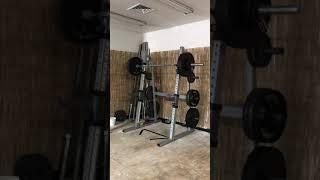 350lb Low Bar Squat 1RM PR