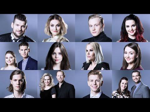 Eurovision 2017 Iceland - My Top 12 (Söngvakeppnin 2017)