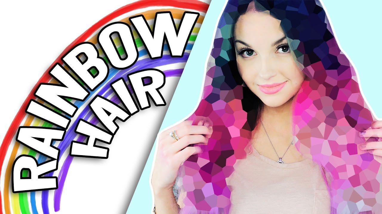 Ich Farbe Meine Haare Bunt Unicorn Hair Xlaeta