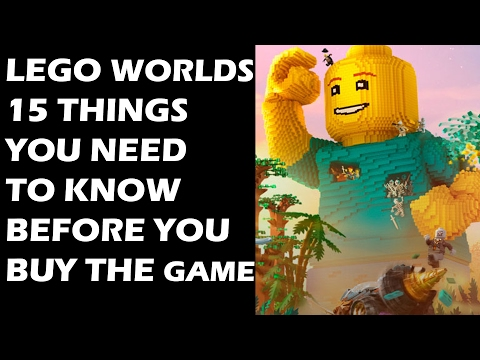 Lego Worlds - 15 Things You Need To Know Before You Buy