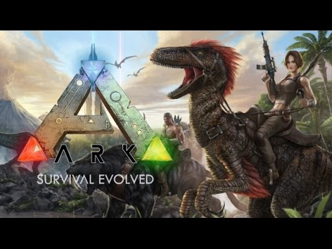 Ark: Survival Evolved - Learning the ropes.. Noob style