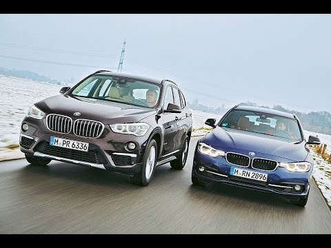 bmw 3 series touring vs bmw x1 youtube. Black Bedroom Furniture Sets. Home Design Ideas
