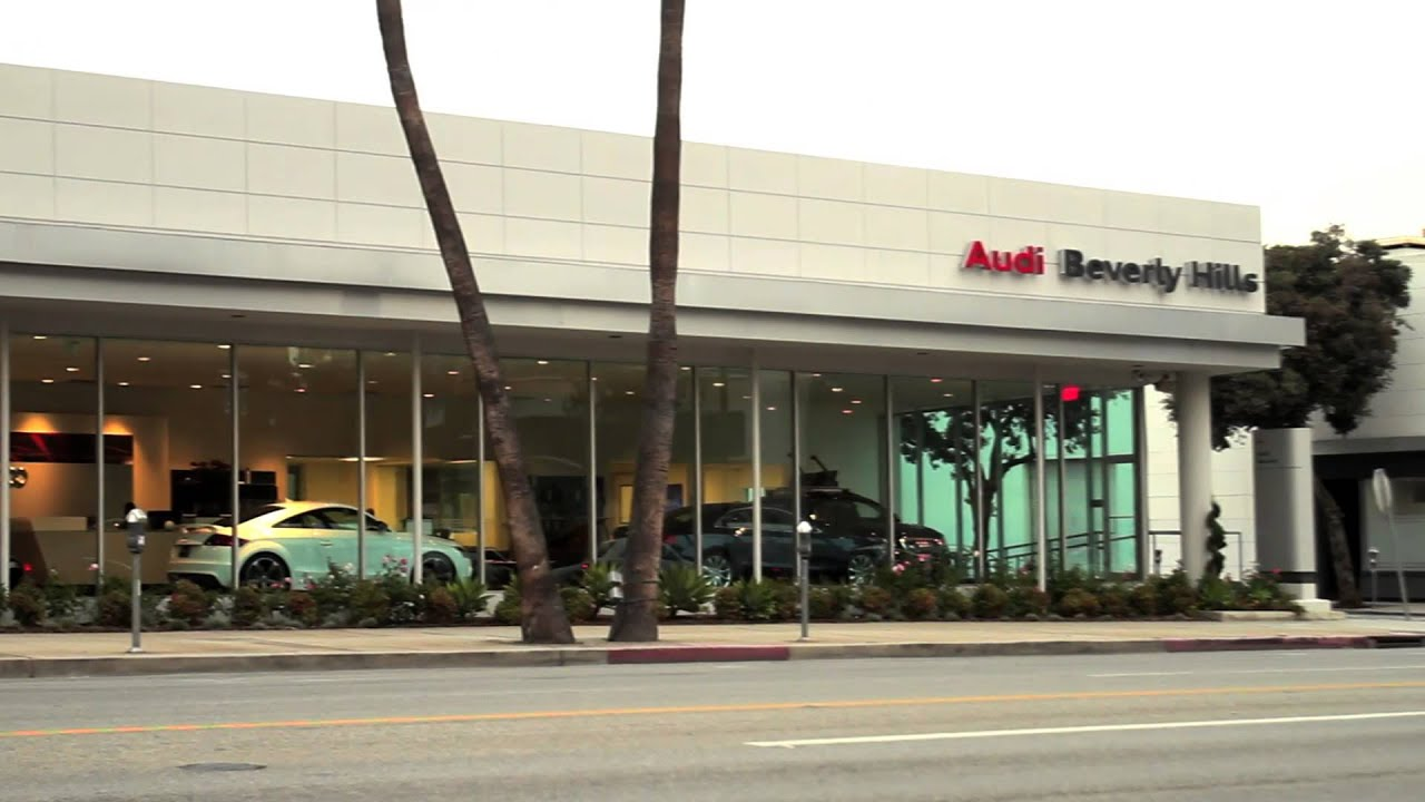PLATINUM MOTORSPORT AUDI SR Displays At AUDI BEVERLY HILLS - Audi beverly hills