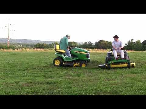ZTR vs Tractor Riding Lawn Mowers Low Def version