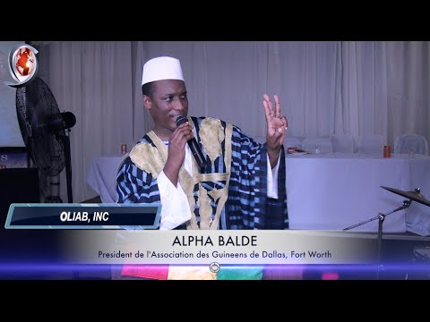 Guinean Association of Dallas, Fort Worth. The President's Speech by Oliab, Inc 214-938-2418