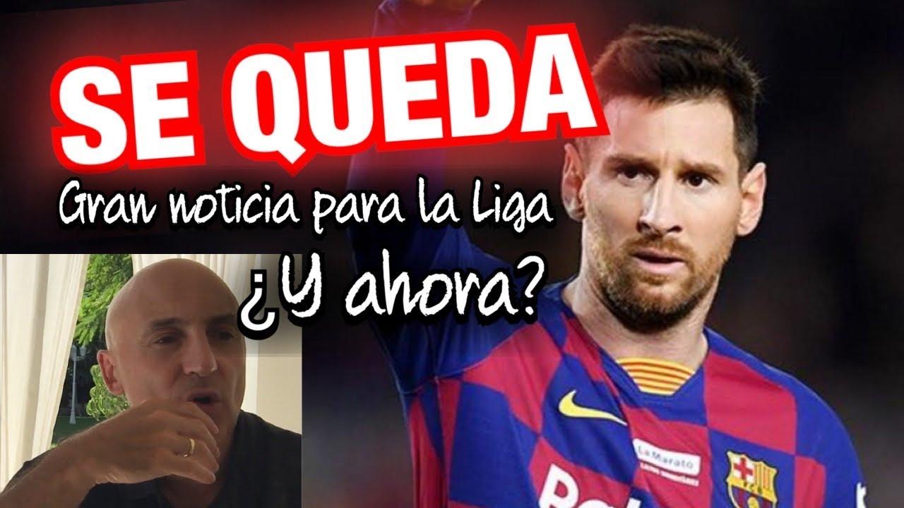 MESSI SE QUEDA EN EL BARCELONA. ¿QUIÉN GANÓ EN TODO ESTO? #MundoMaldini