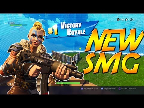 New MP5 SMG Victory | Fortnite Battle Royale Gameplay
