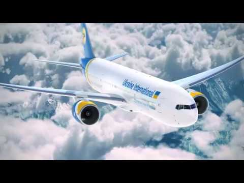 Ukraine International Airlines Boeing 777-200ER salon classes