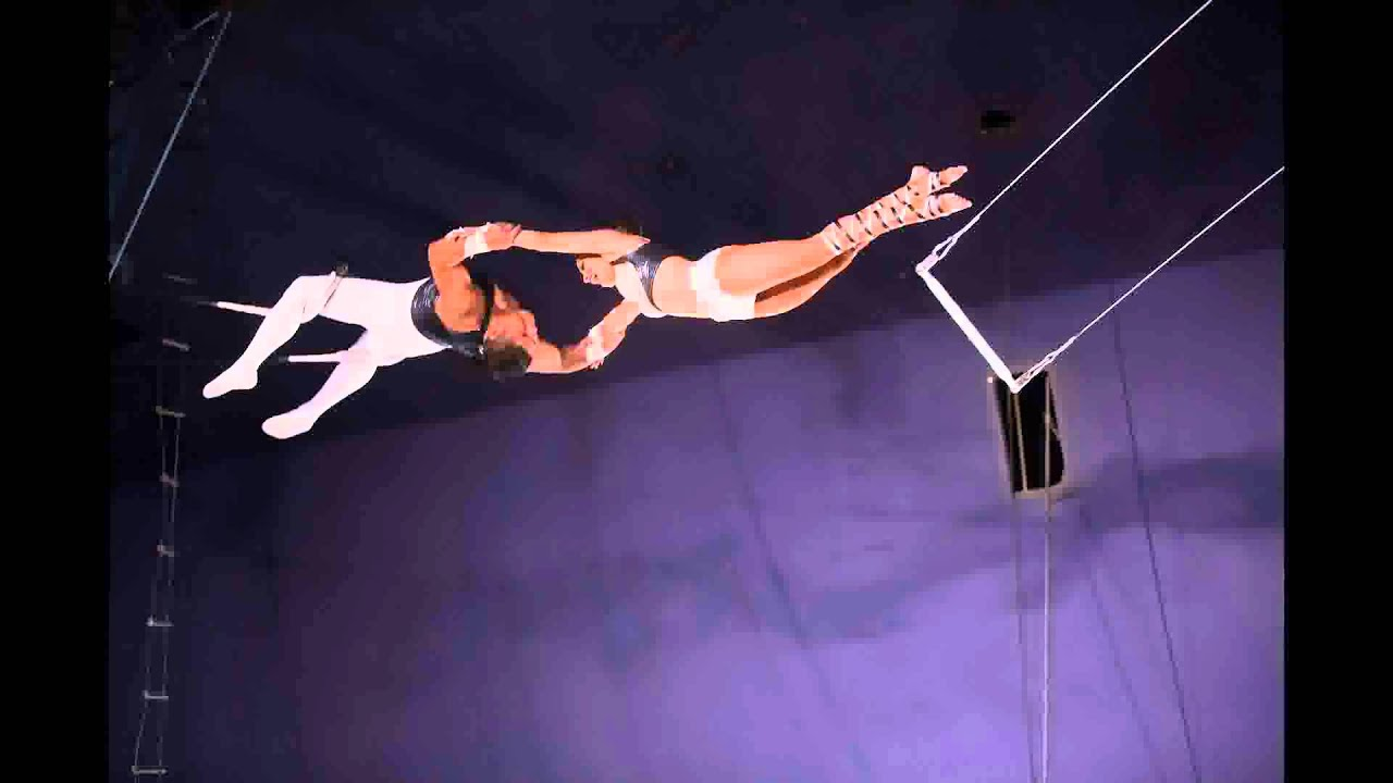 Flying Angels Trapeze Artists Circus Casino In