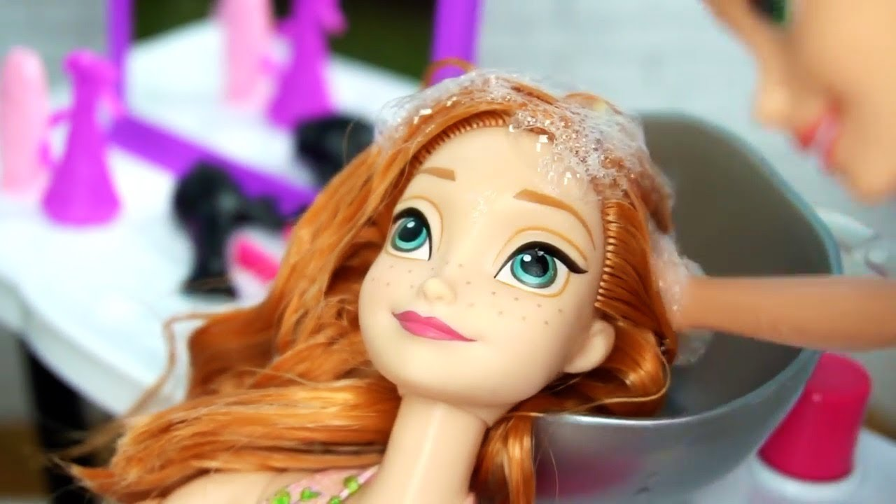 barbie colour and wash salon Games for Girls on ...