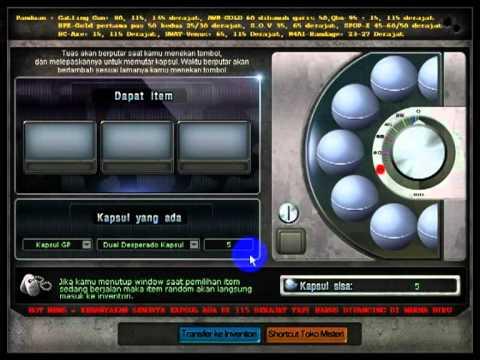 Crossfire Dual Desperado Kapsul GP