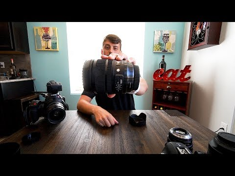 Sigma 24-70mm f/2.8 OS Art Lens unboxing impressions testing and initial thoughts -Chapter 79