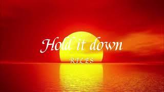 Rilès - Hold It Down (slowed + reverb)