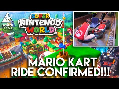 Real Life Mario Kart Ride Confirmed! Super Nintendo World Universal Studios News + Updates