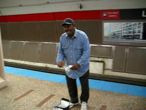 Washington El Stop Performer- Chicago
