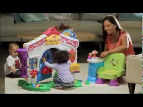 TV Commercial - Fisher Price - Laugh & Learn - Learning Home & Story Learning Chair - Joy