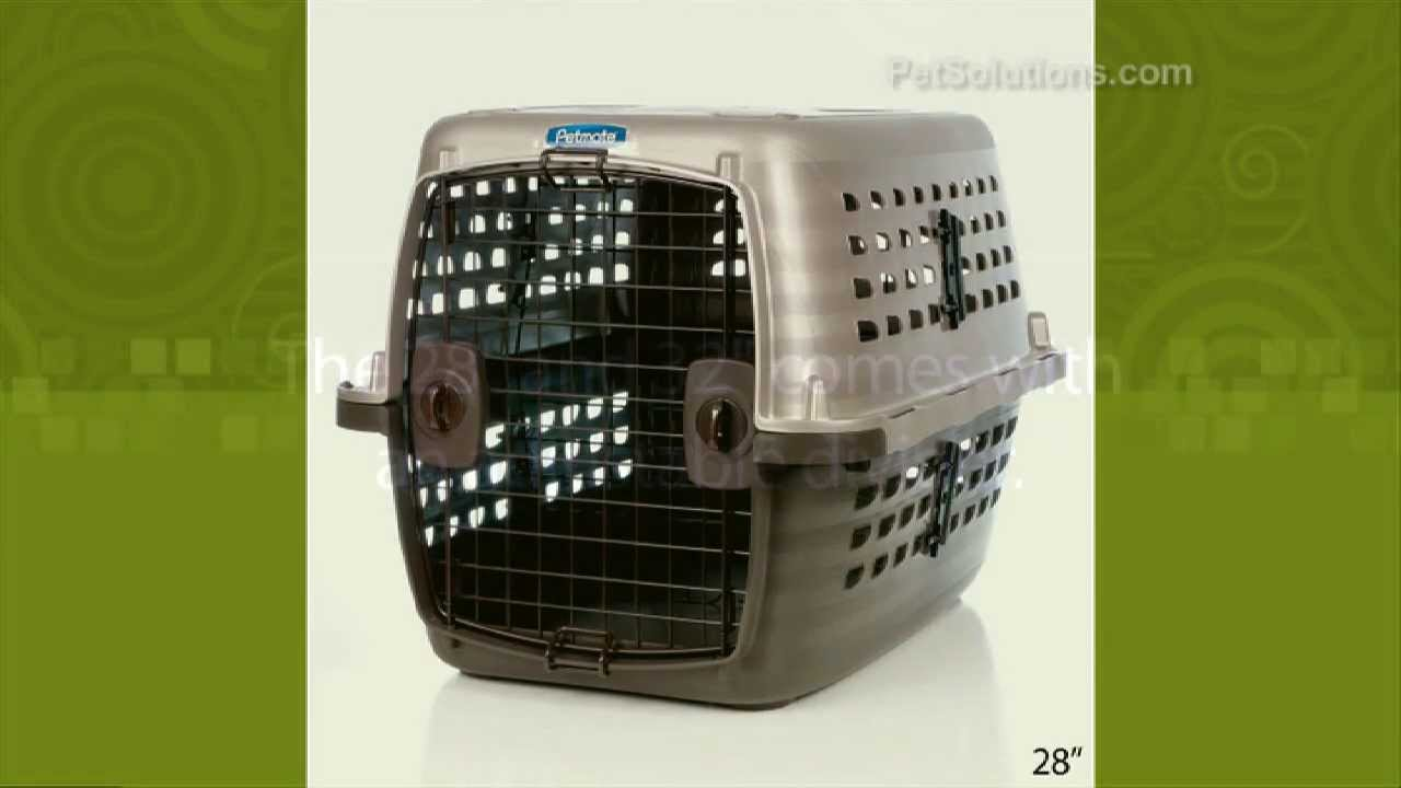 82326b74b5cb PetSolutions: Petmate Navigator Pet Kennel - YouTube