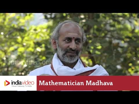 Contributions from ancient Indian mathematician Madhava