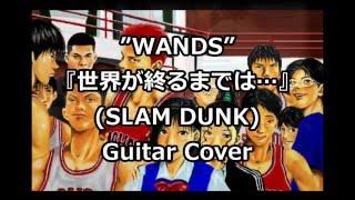 WANDS 『世界が終るまでは…』(スラムダンクED)【Guitar Cover】