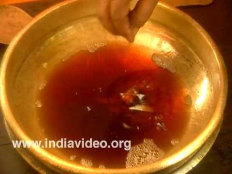 Preparation of Ghruta, the Ayurvedic ghee