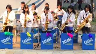 By SASAGE JAZZ ENSEMBLE ORCHESTRA (SJEO 2014) Sasage Jr. high schoo...
