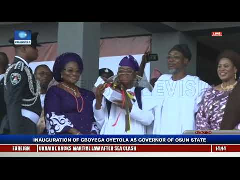Gboyega Oyetola Sworn In, Takes Over As Osun State Governor Pt.11 |Live Event|