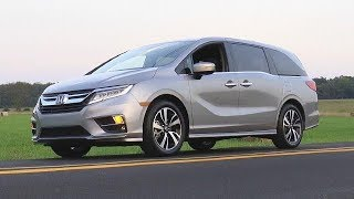 2018 Honda Odyssey Elite Test Drive Video Review *All-New Redesigned*