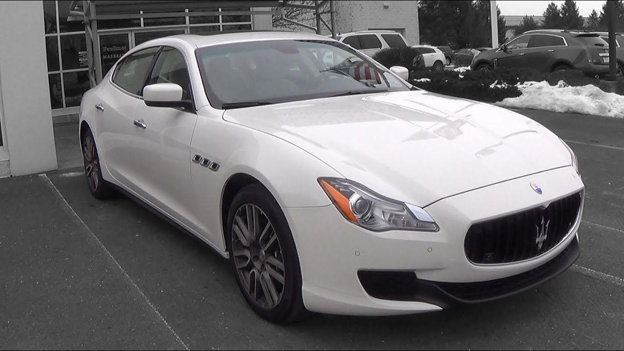 2015 maserati quattroporte s q4 review youtube. Black Bedroom Furniture Sets. Home Design Ideas
