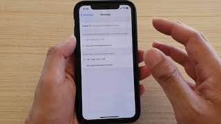 iPhone 11 Pro: How to Enable / Disable iMessage