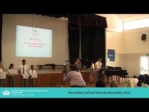 DCIS: Secondary School Awards Assembly 2016
