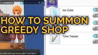 Greedy toy dealer: How to summon