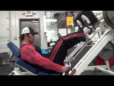 Mike O'Hearn shows you 3 different ways to do leg presses in Risto Sports lifting shoes