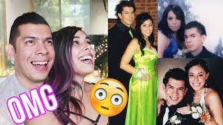 REACTING TO OLD HIGHSCHOOL PROM PHOTOS