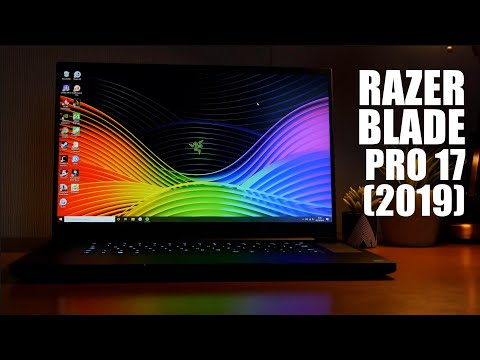 Razer Blade Pro 17 (2019) Laptop - BRIONY rates it as one of the best laptops of the year