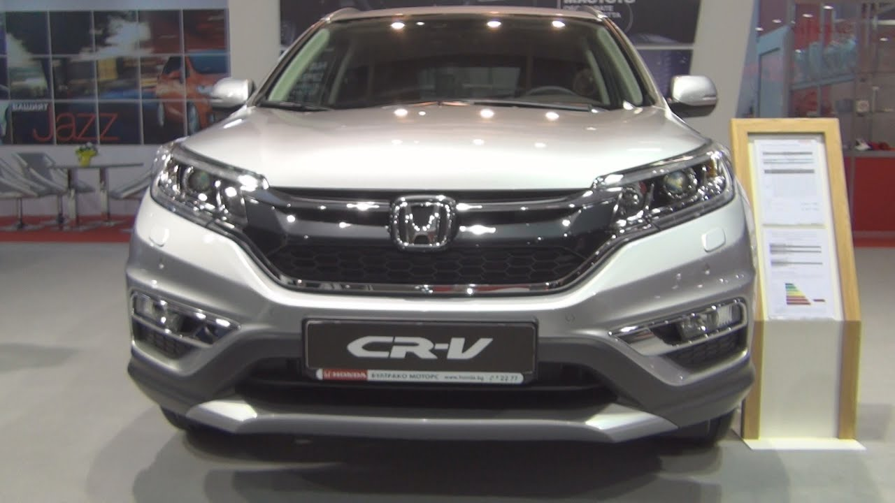 Honda Cr V 2 0 4wd Lifestyle 2016 Exterior And Interior In You