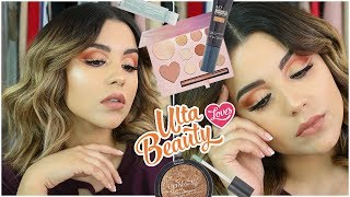 FULL FACE USING ONLY ULTA BEAUTY BRAND PRODUCTS! | FREAKING SHOOK!