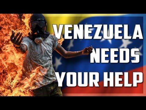 Venezuela needs your help!!