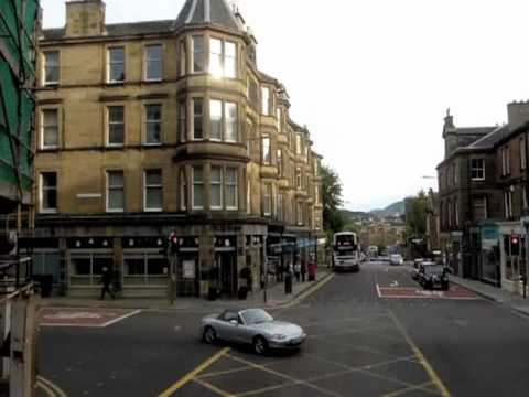Morningside (Edinburgh) bus ride